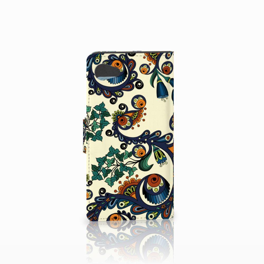 Wallet Case Sony Xperia Z5 Compact Barok Flower