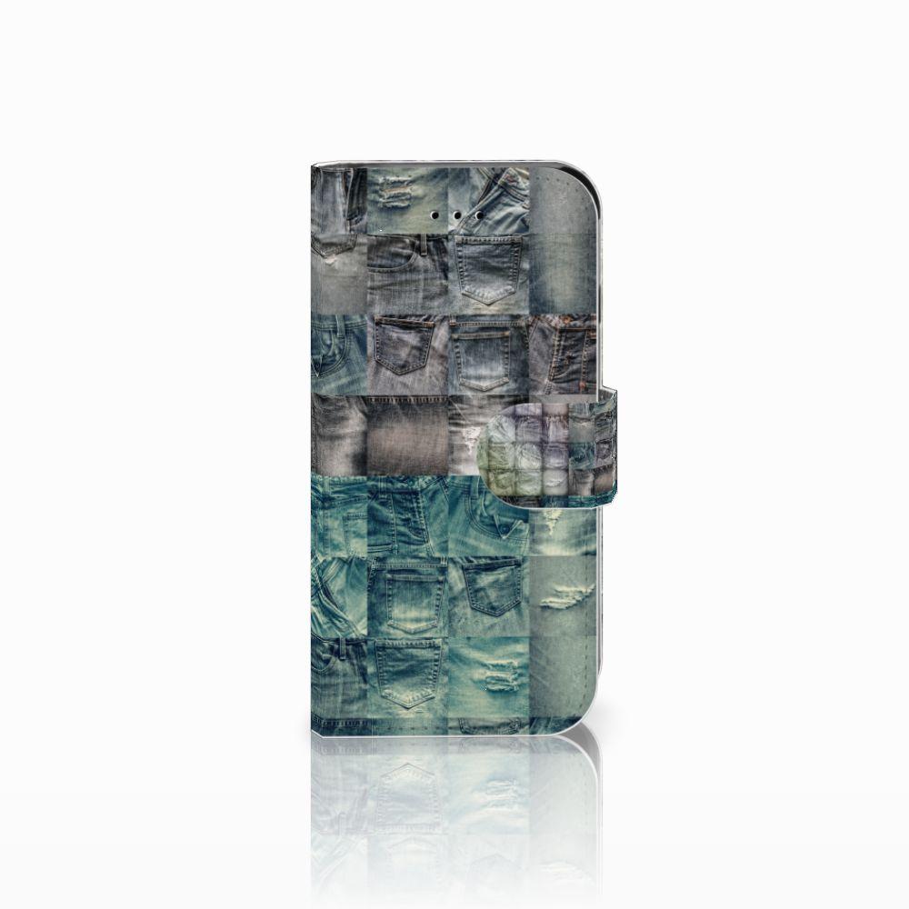 Apple iPhone 6 | 6s Uniek Boekhoesje Spijkerbroeken