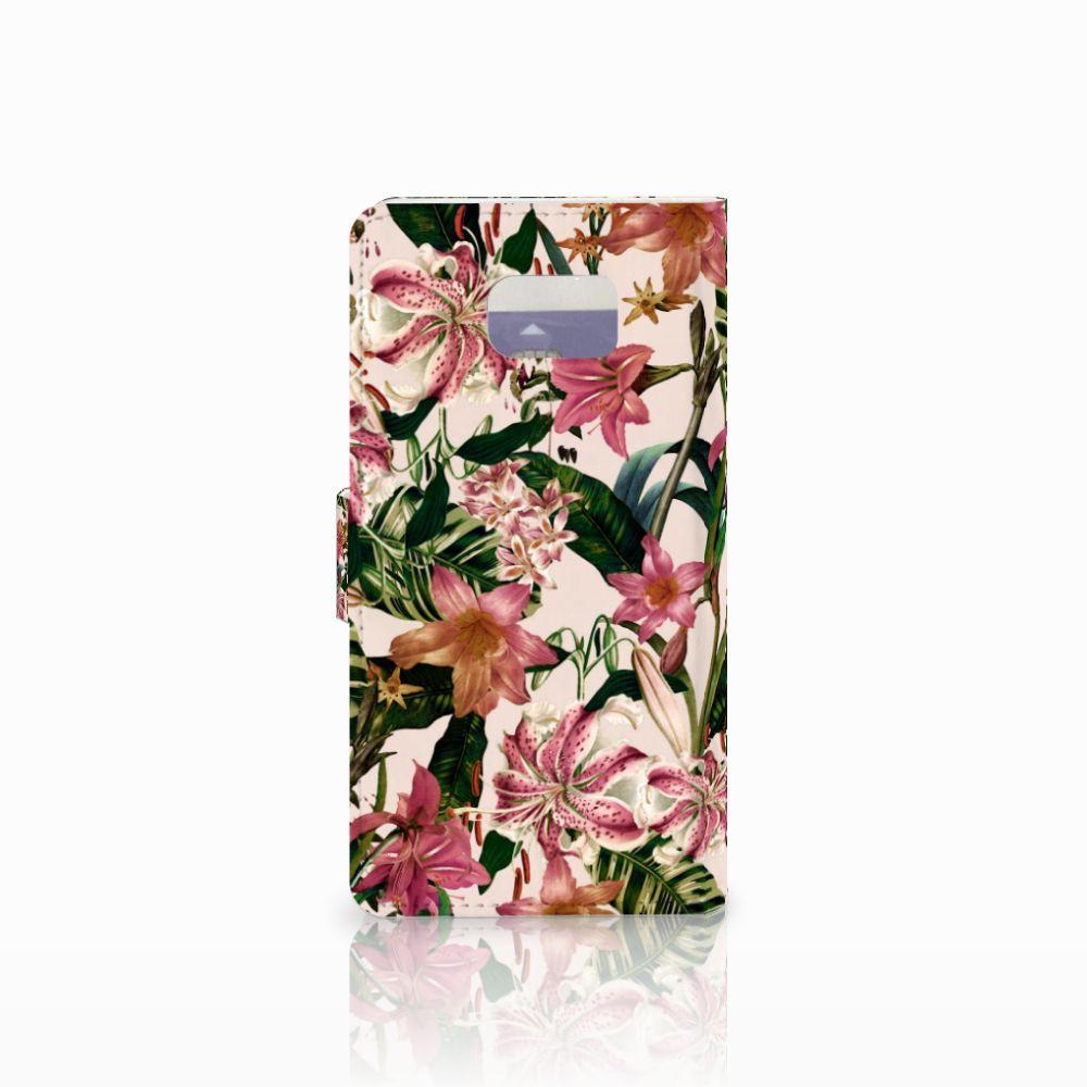 Samsung Galaxy Note 5 Hoesje Flowers