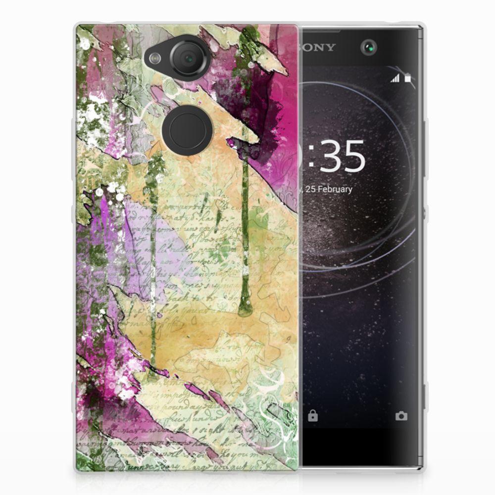 Hoesje maken Sony Xperia XA2 Letter Painting
