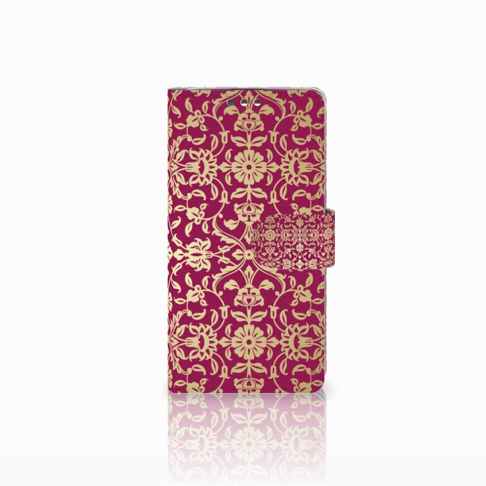 LG K8 Boekhoesje Design Barok Pink