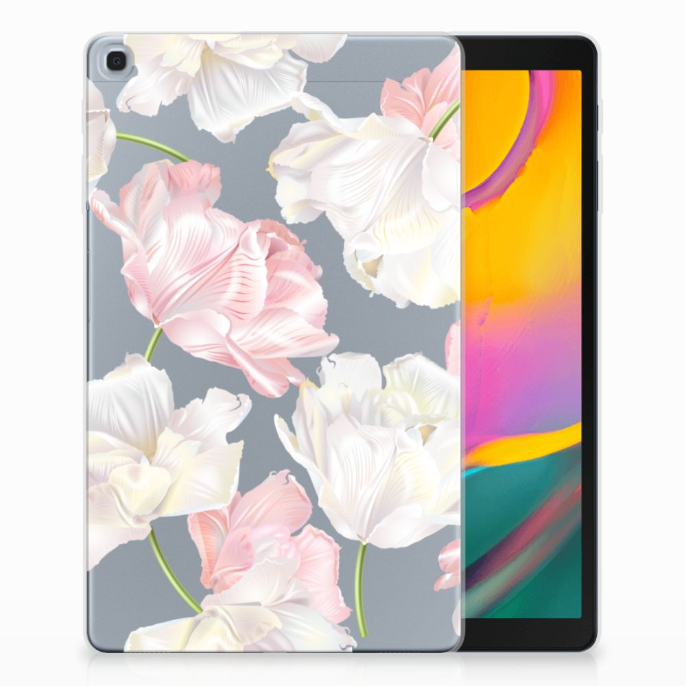 Samsung Galaxy Tab A 10.1 (2019) Tablethoesje Design Lovely Flowers