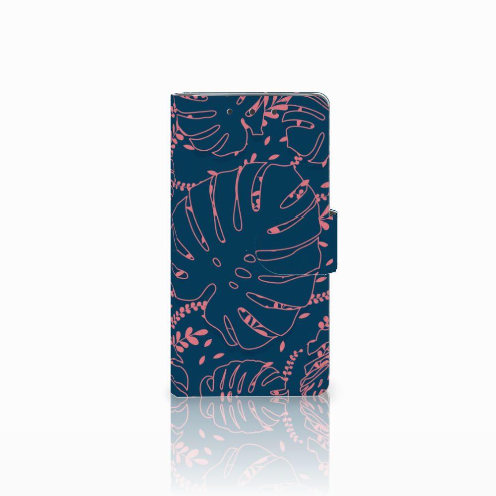 HTC One M7 Boekhoesje Design Palm Leaves