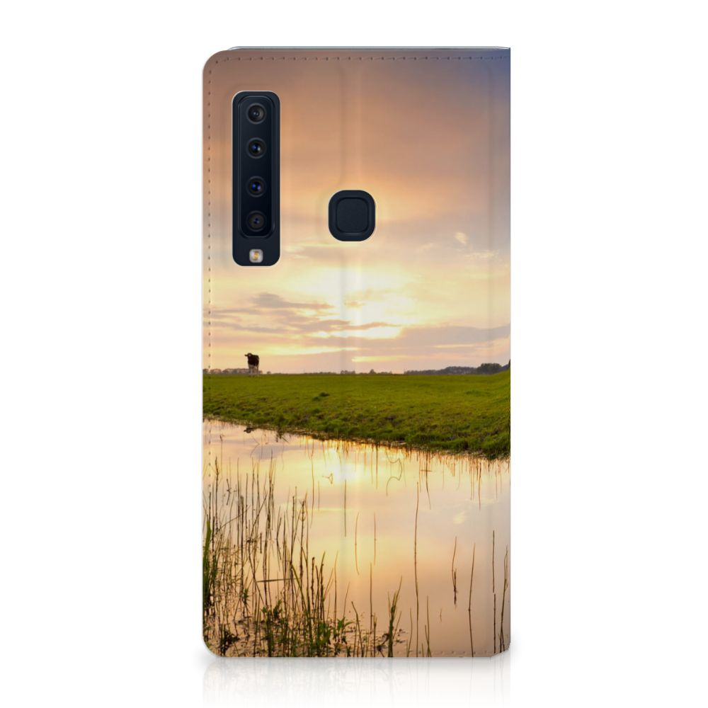 Samsung Galaxy A9 (2018) Standcase Hoesje Design Koe