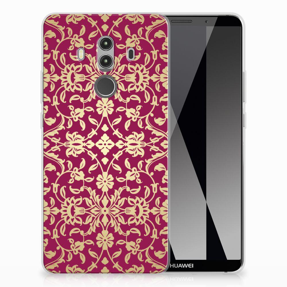 Siliconen Hoesje Huawei Mate 10 Pro Barok Pink