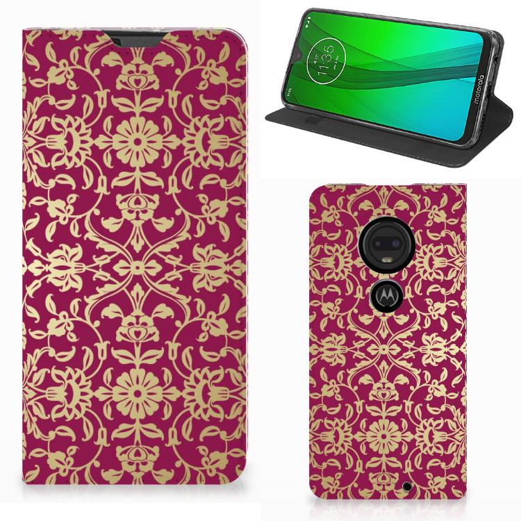 Telefoon Hoesje Motorola Moto G7 | G7 Plus Barok Pink