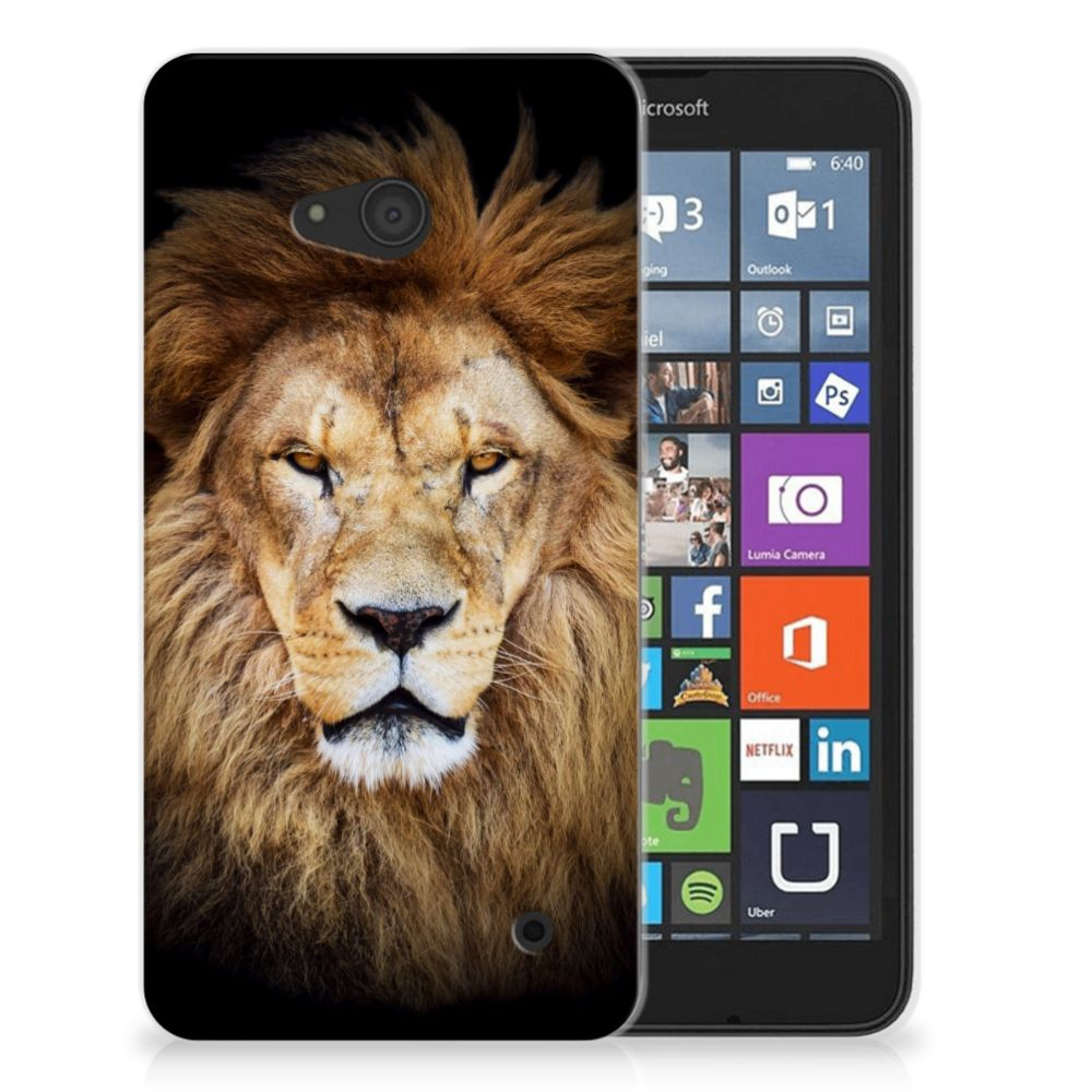 Microsoft Lumia 640 TPU Hoesje Leeuw