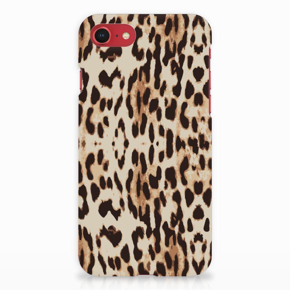 Apple iPhone 7   8 Rubber Case Leopard