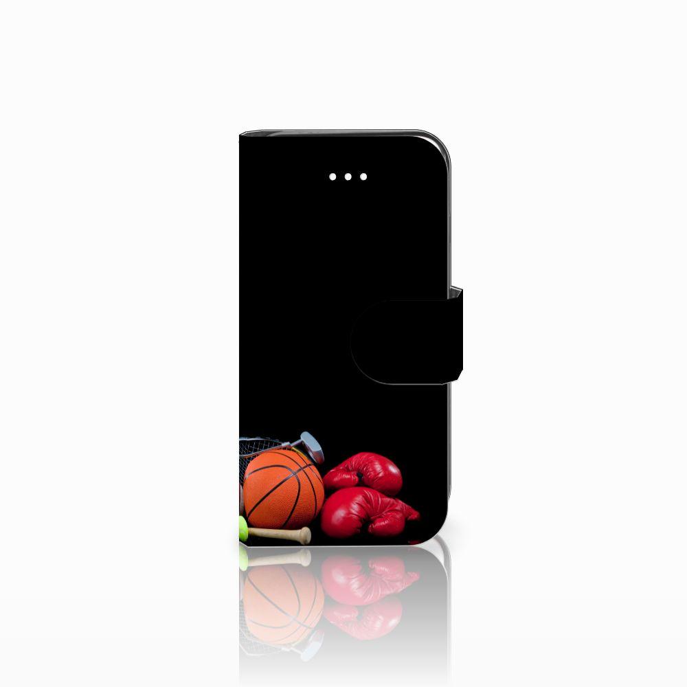 Apple iPhone 5   5s   SE Boekhoesje Design Sports