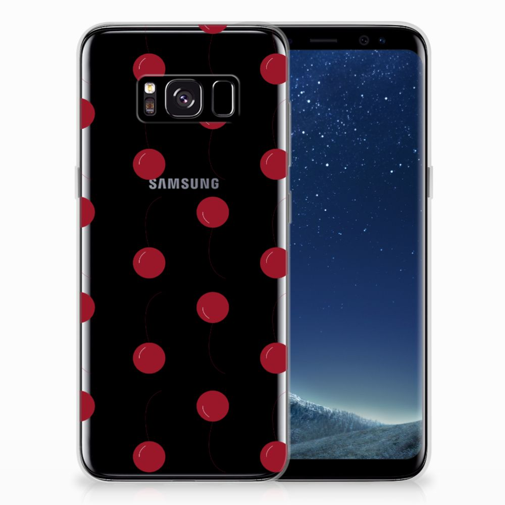 Samsung Galaxy S8 Siliconen Case Cherries
