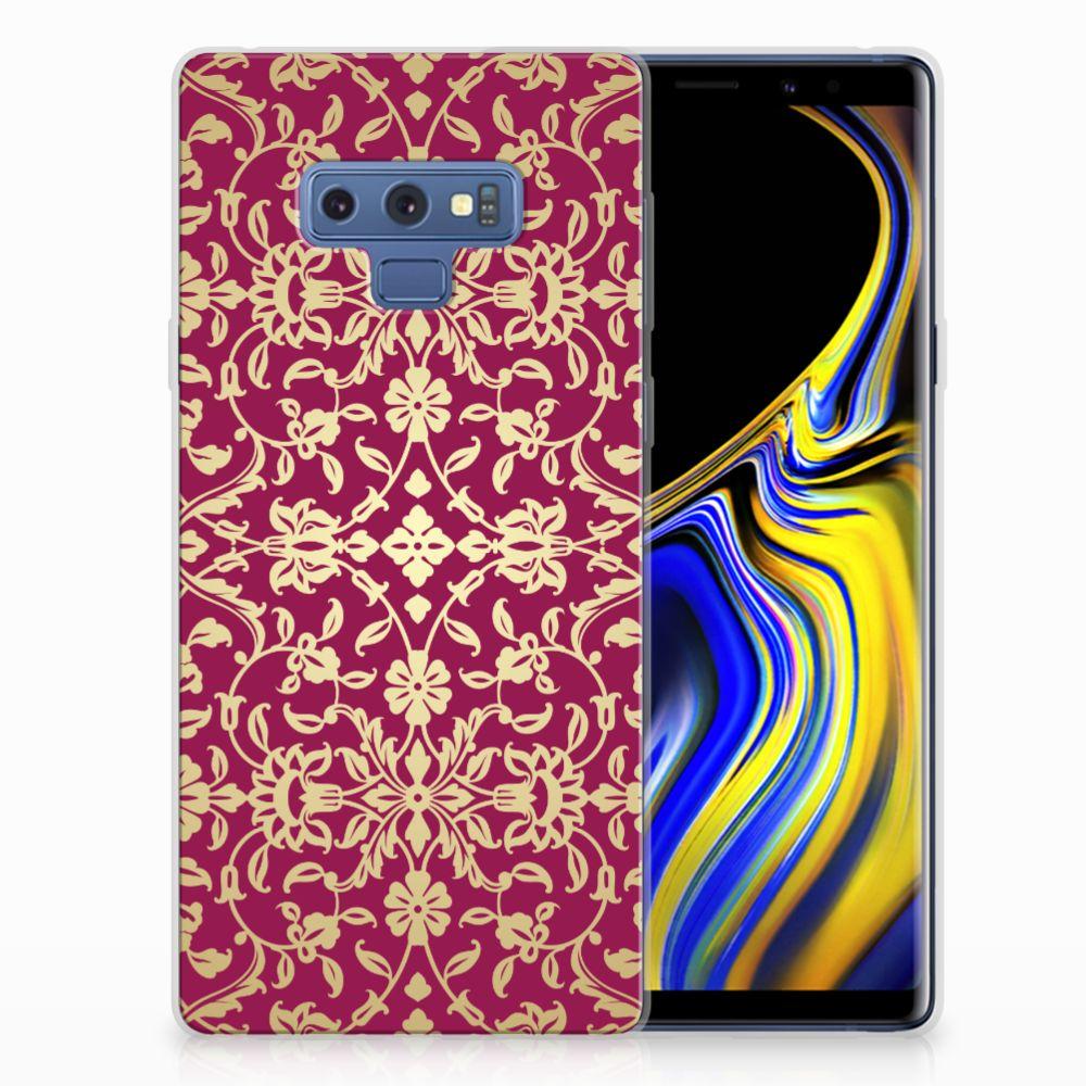 Siliconen Hoesje Samsung Galaxy Note 9 Barok Pink