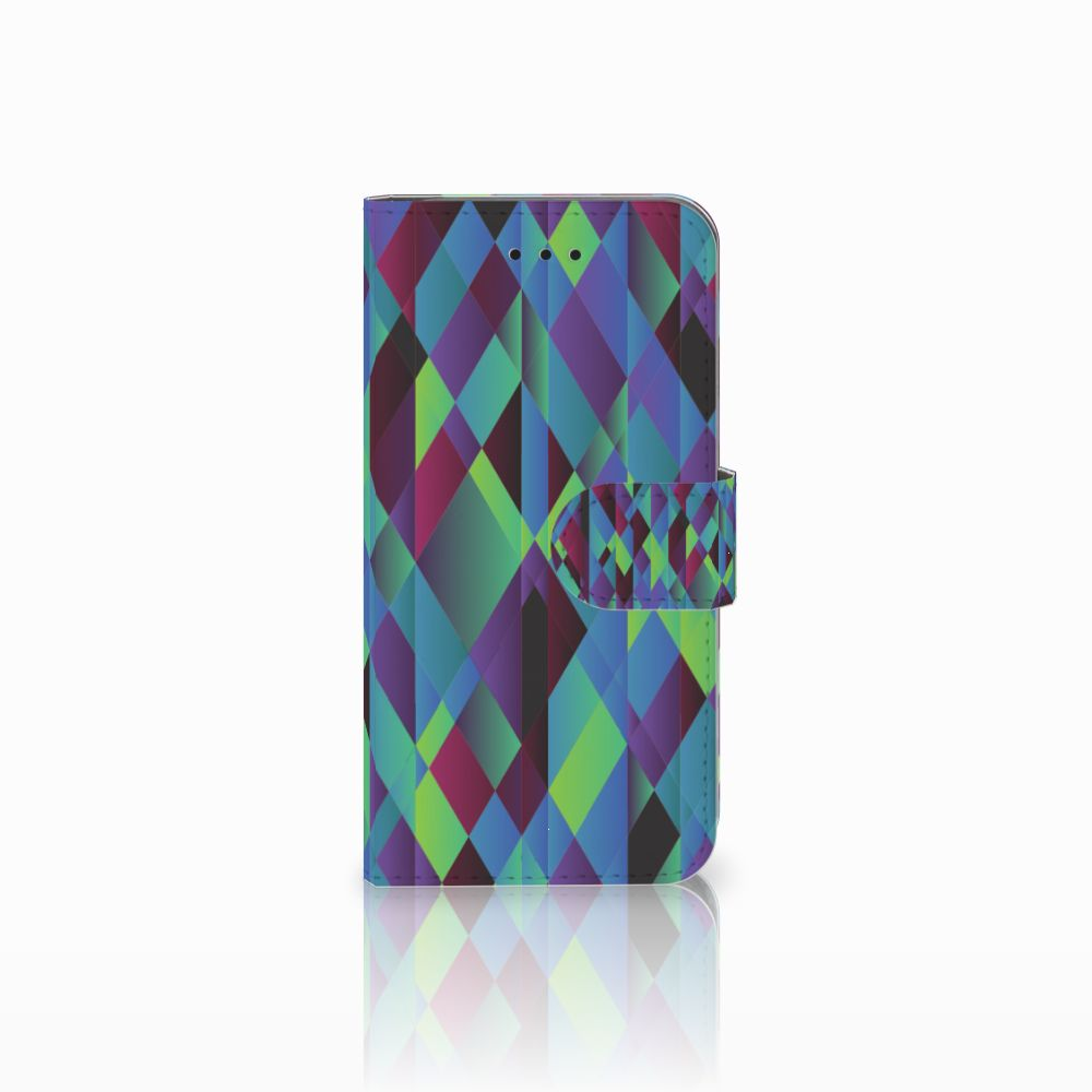 Apple iPhone X | Xs Boekhoesje Design Abstract Green Blue