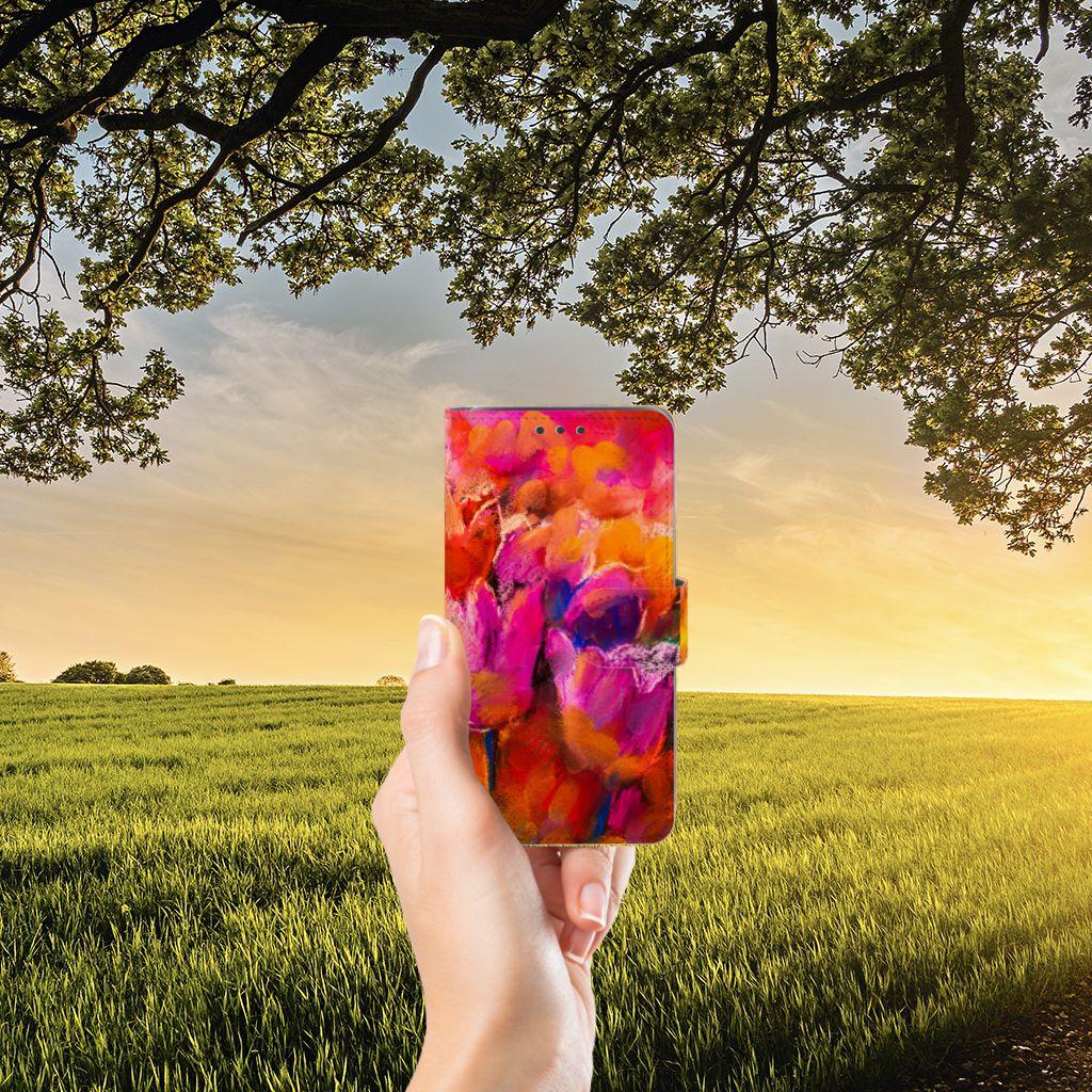 Samsung Galaxy J5 (2015) Boekhoesje Design Tulips