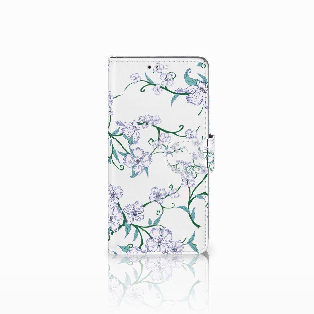 Honor 9 Uniek Boekhoesje Blossom White