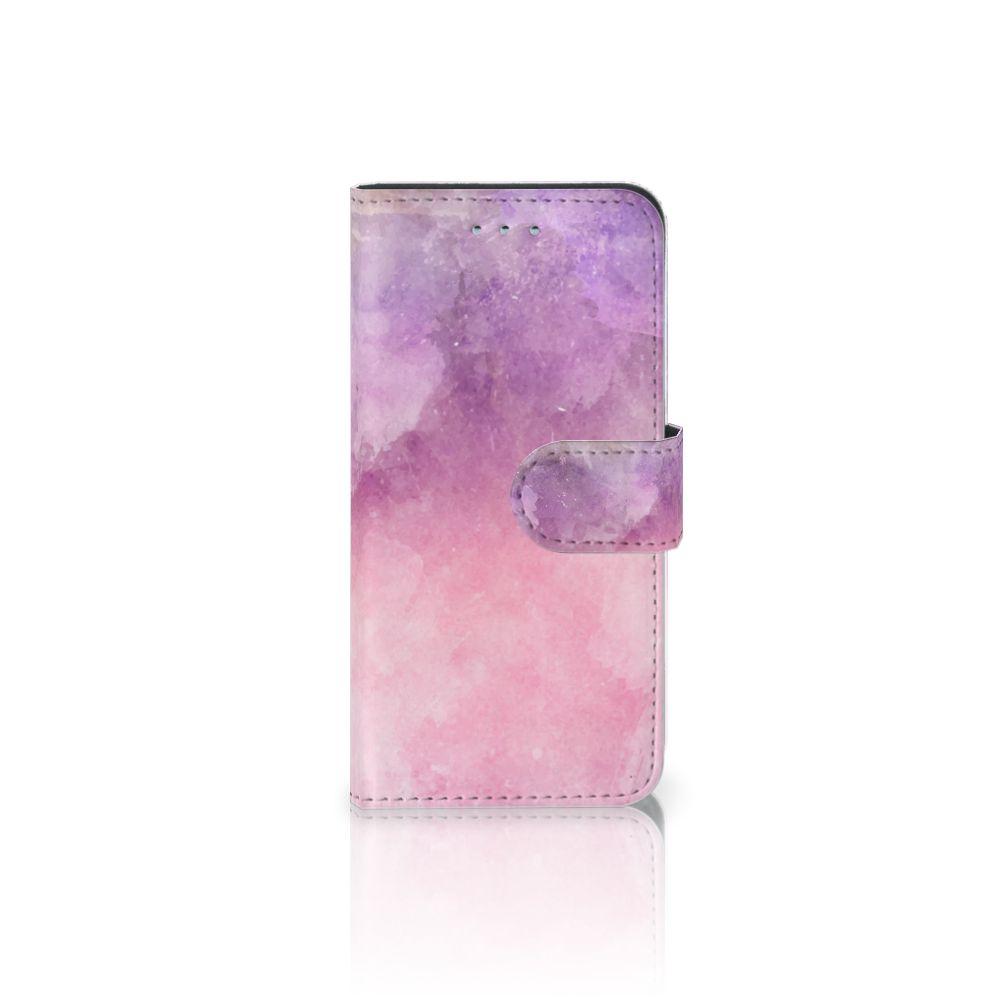 Samsung Galaxy S6 | S6 Duos Boekhoesje Design Pink Purple Paint