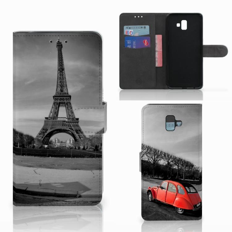 Samsung Galaxy J6 Plus (2018) Flip Cover Eiffeltoren
