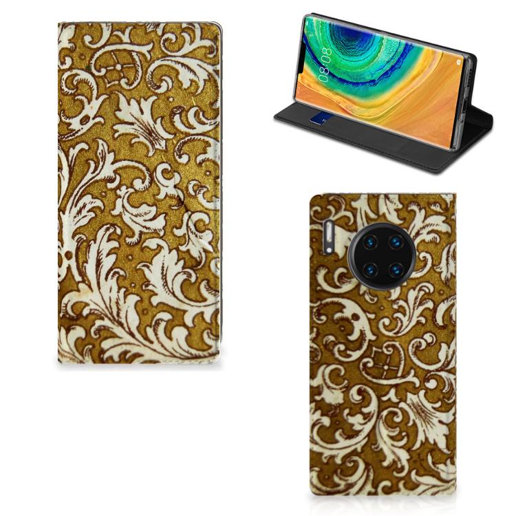 Telefoon Hoesje Huawei Mate 30 Pro Barok Goud