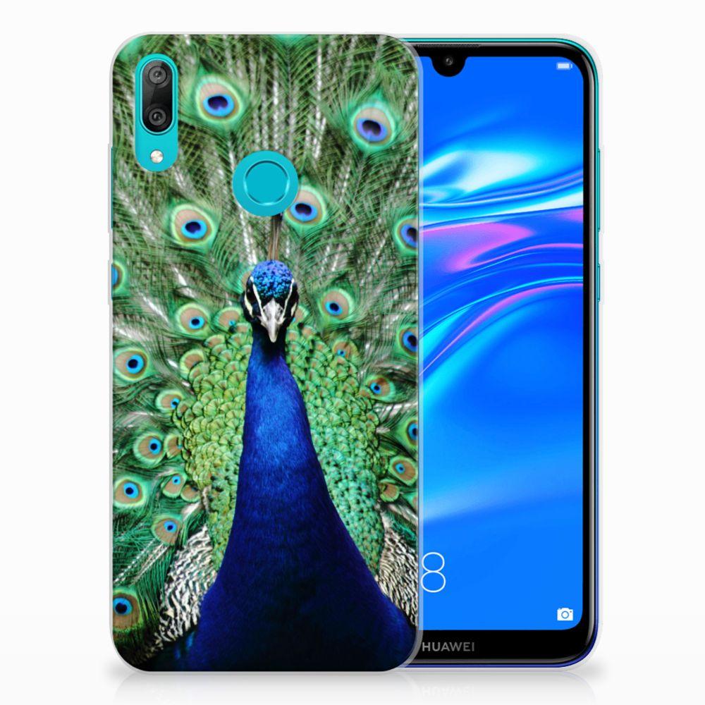 Huawei Y7 2019 TPU Hoesje Pauw