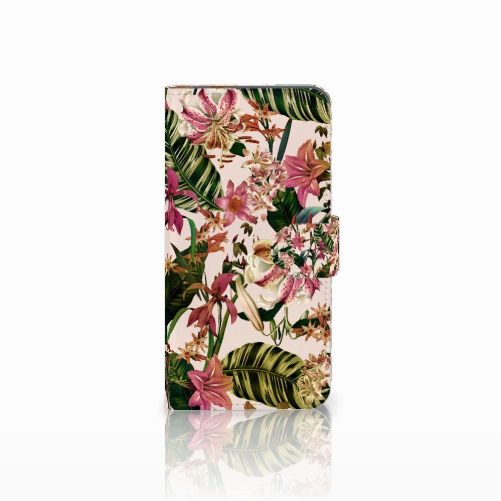 Huawei Nova Plus Uniek Boekhoesje Flowers