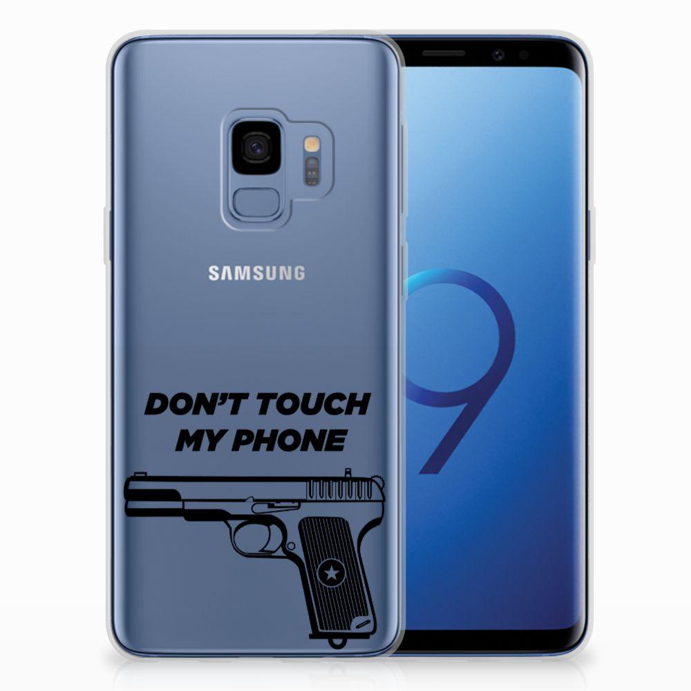 Samsung Galaxy S9 Uniek TPU Hoesje Pistol DTMP