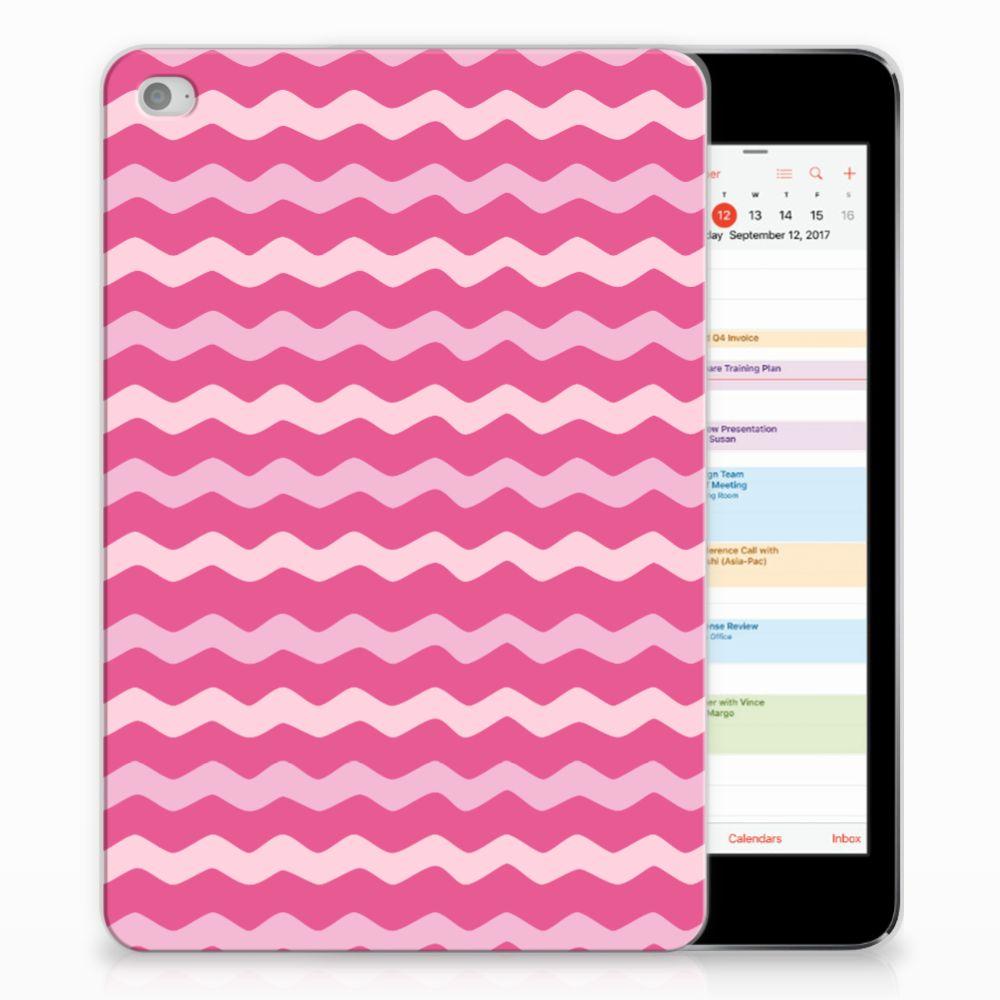 Apple iPad Mini 4 | Mini 5 (2019) Hippe Hoes Waves Pink