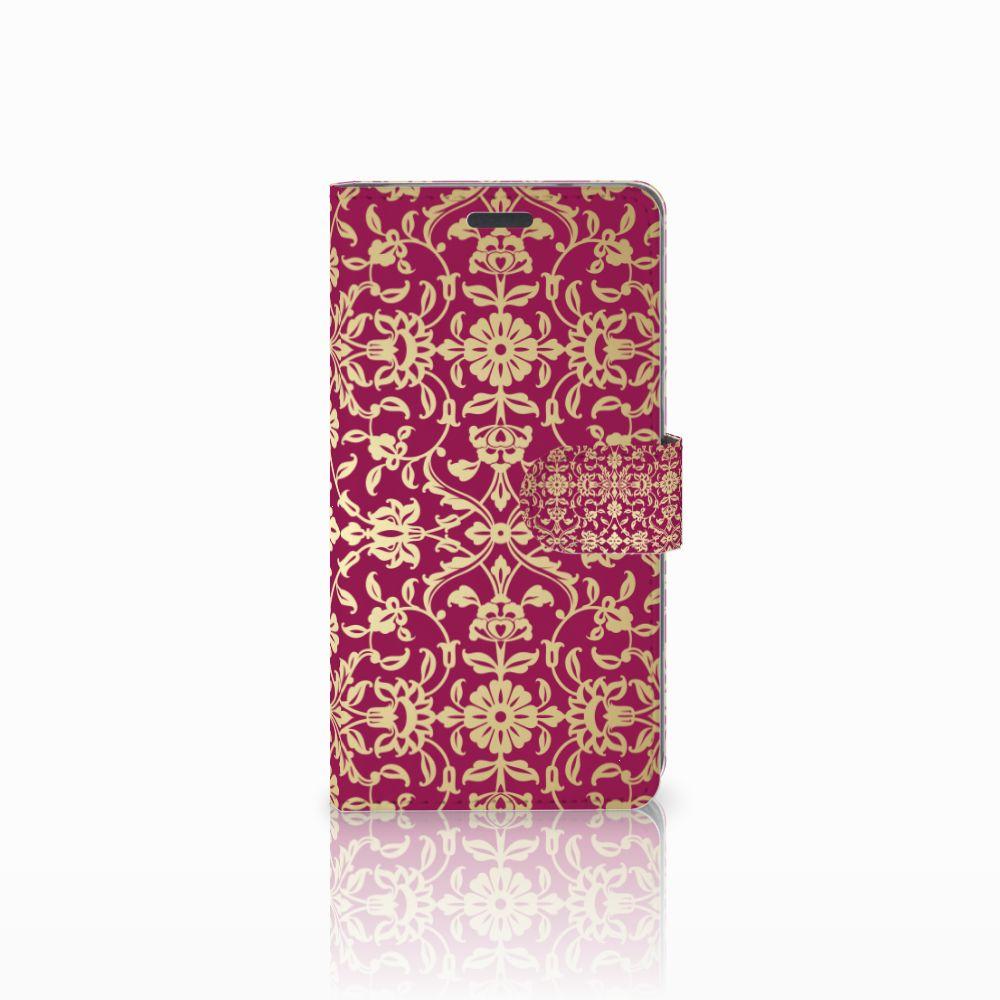 LG X Power Boekhoesje Design Barok Pink