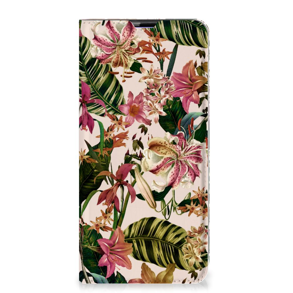 Samsung Galaxy A51 Smart Cover Flowers