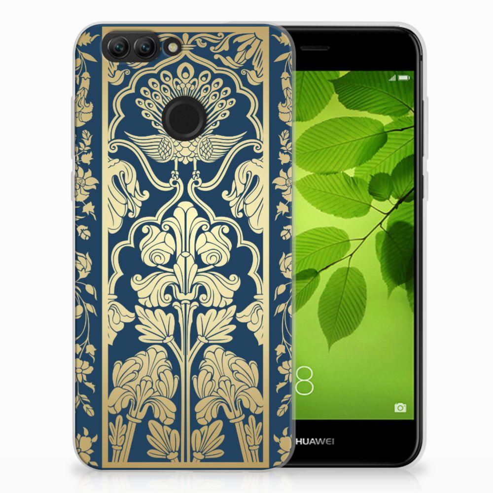Huawei Nova 2 TPU Case Golden Flowers