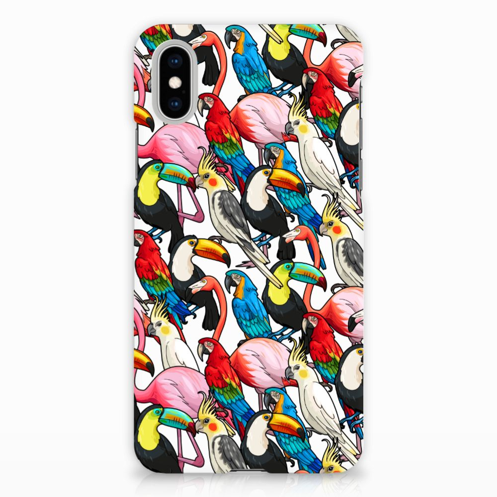 Apple iPhone X | Xs Uniek Hardcase Hoesje Birds