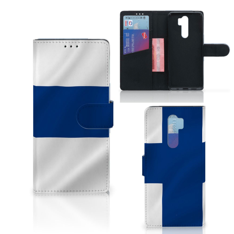 Xiaomi Note 8 Pro Bookstyle Case Finland