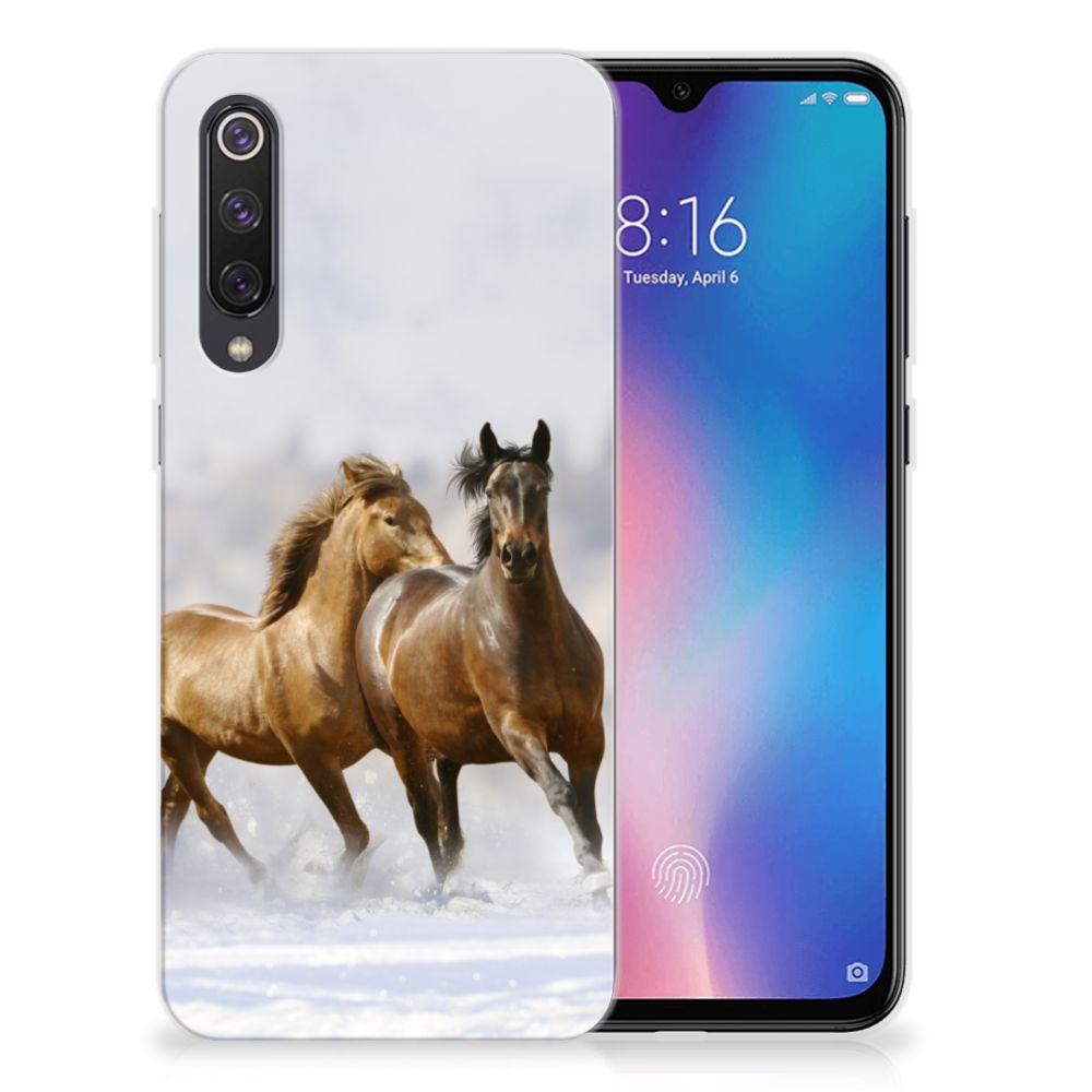Xiaomi Mi 9 SE TPU Hoesje Paarden