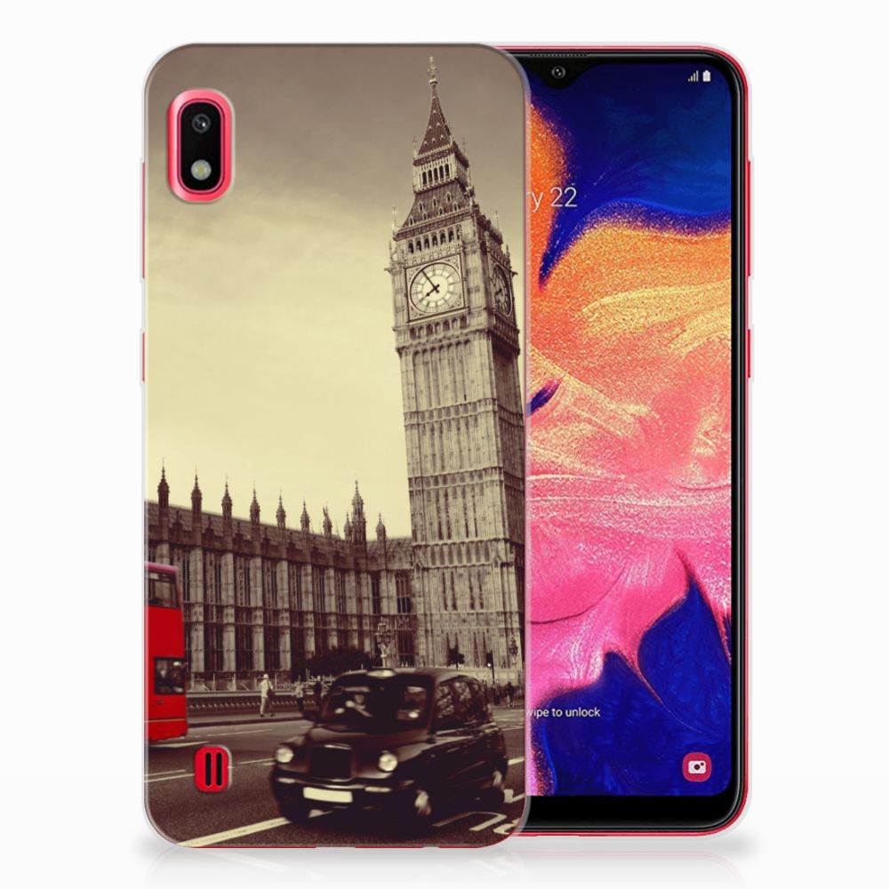 Samsung Galaxy A10 Siliconen Back Cover Londen