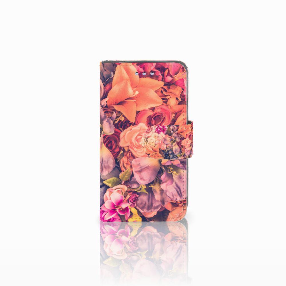 Samsung Galaxy S3 Mini Boekhoesje Design Bosje Bloemen