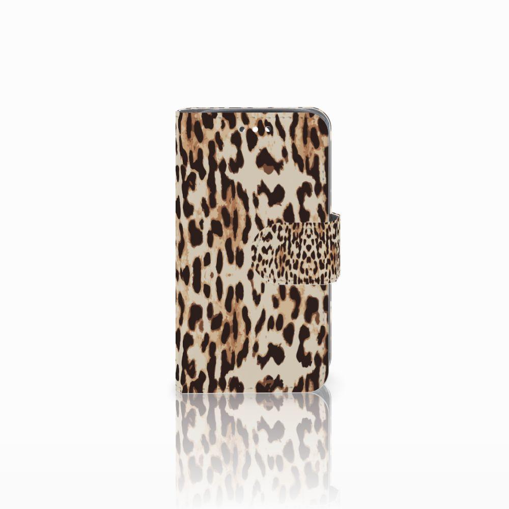 Huawei Y360 Uniek Boekhoesje Leopard