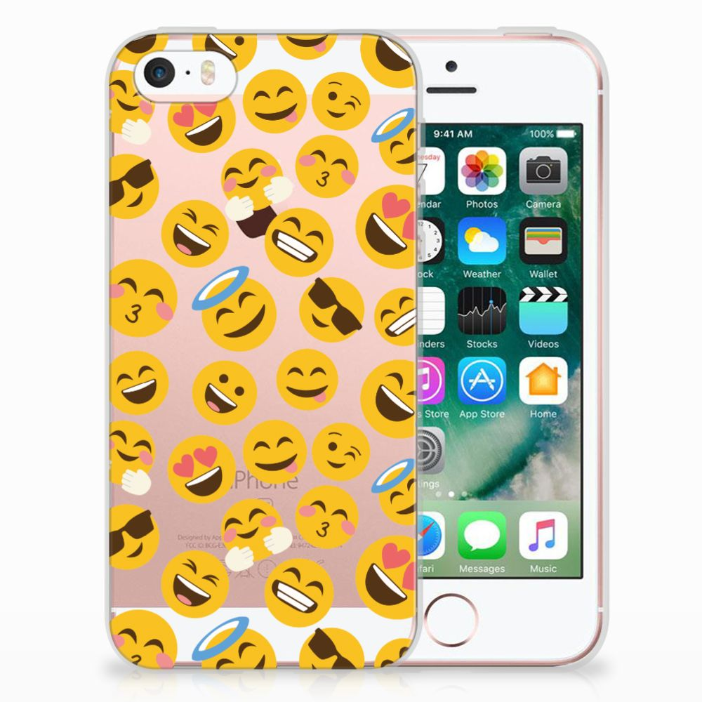 Apple iPhone SE | 5S TPU Hoesje Design Emoji