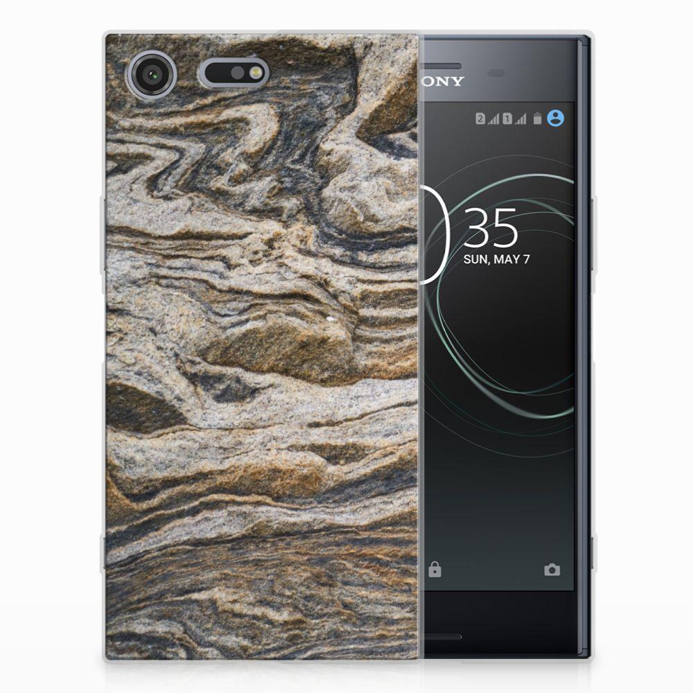 Sony Xperia XZ Premium TPU Siliconen Hoesje Steen