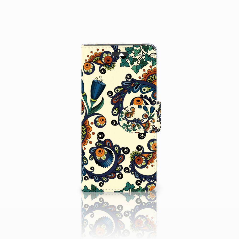 Huawei Ascend Y550 Boekhoesje Design Barok Flower