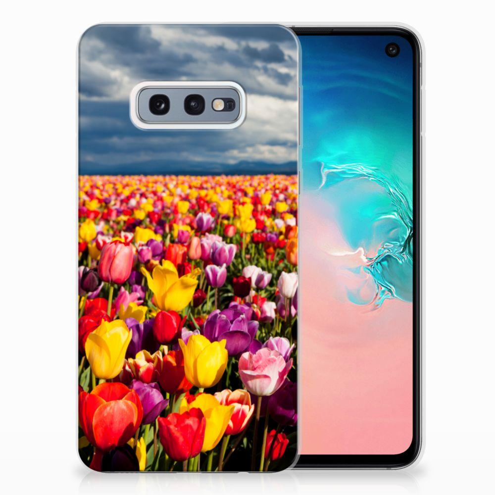 Samsung Galaxy S10e Uniek TPU Hoesje Tulpen