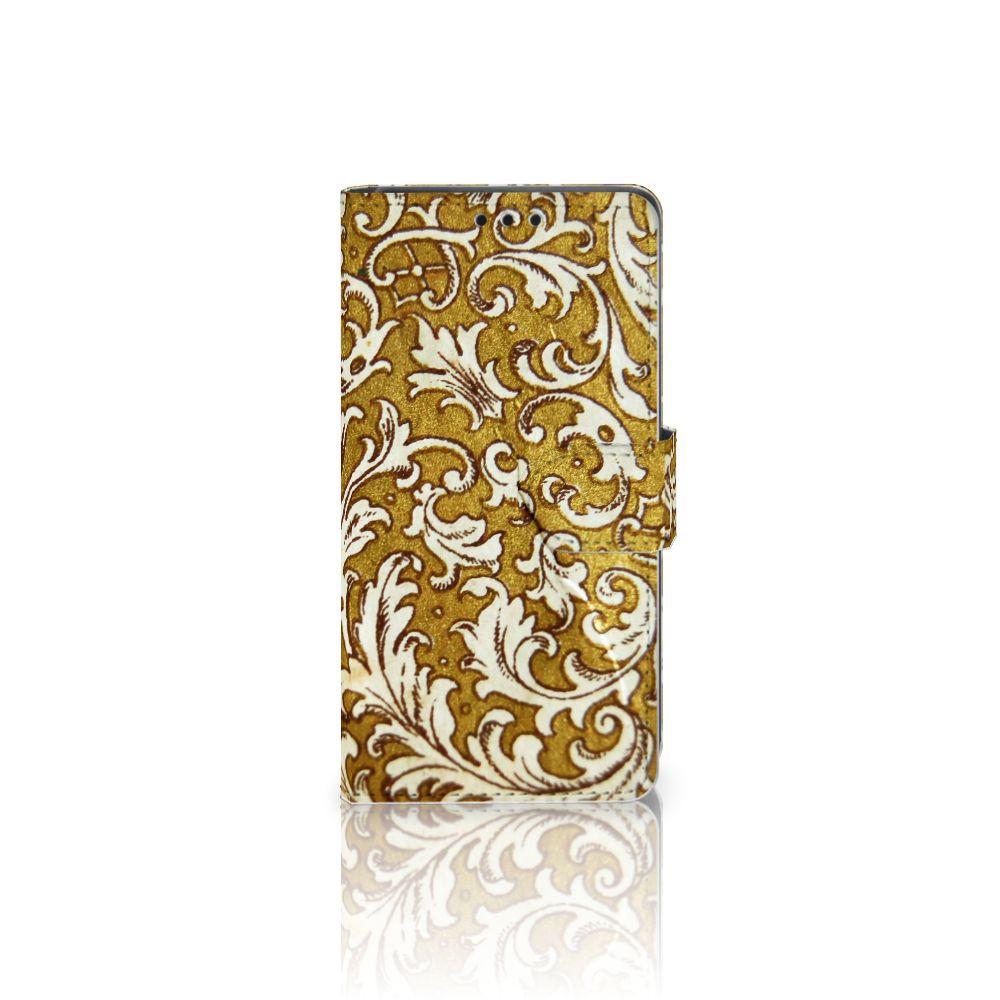 Wallet Case Sony Xperia Z5 | Z5 Dual Barok Goud
