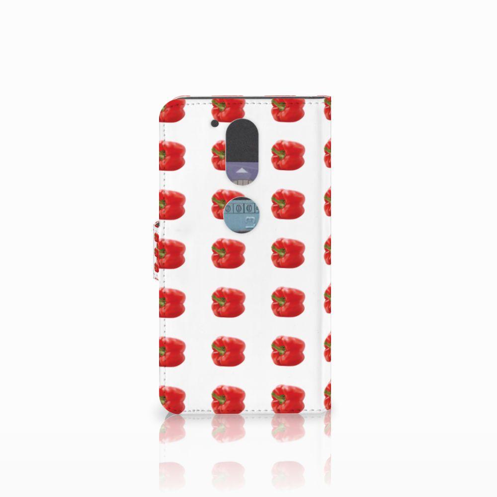 Motorola Moto G4 | G4 Plus Book Cover Paprika Red