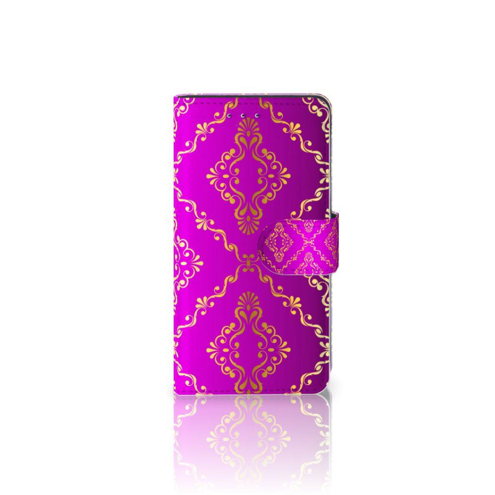 Motorola Moto G 3e Generatie Uniek Boekhoesje Barok Roze