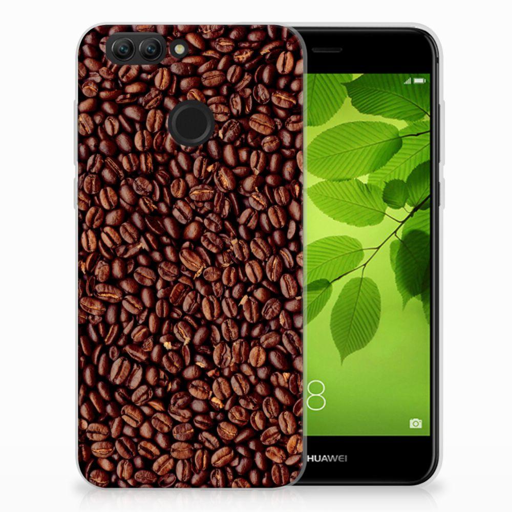 Huawei Nova 2 Siliconen Case Koffiebonen