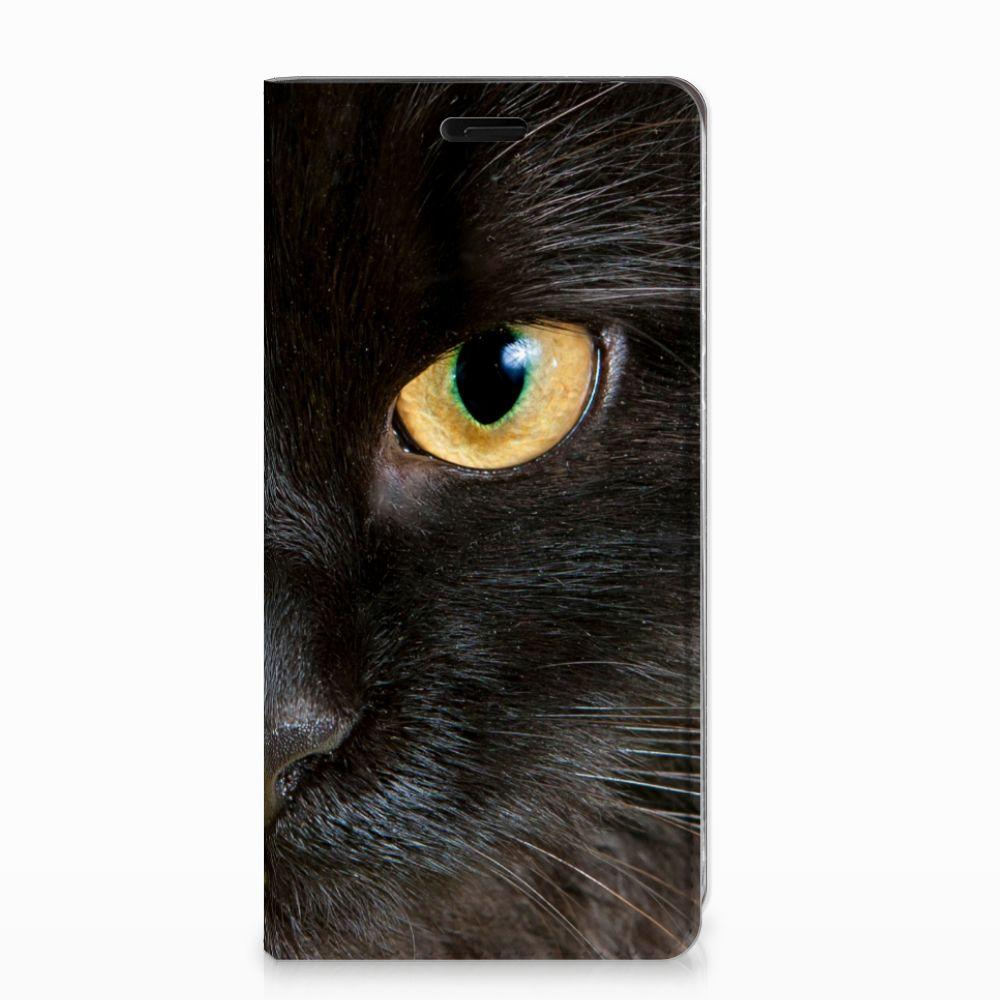 Nokia 8 Hoesje maken Zwarte Kat