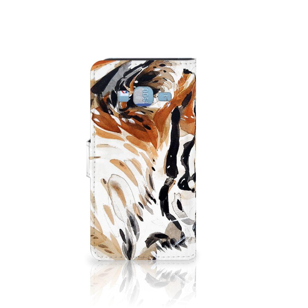 Hoesje Samsung Galaxy J3 2016 Watercolor Tiger