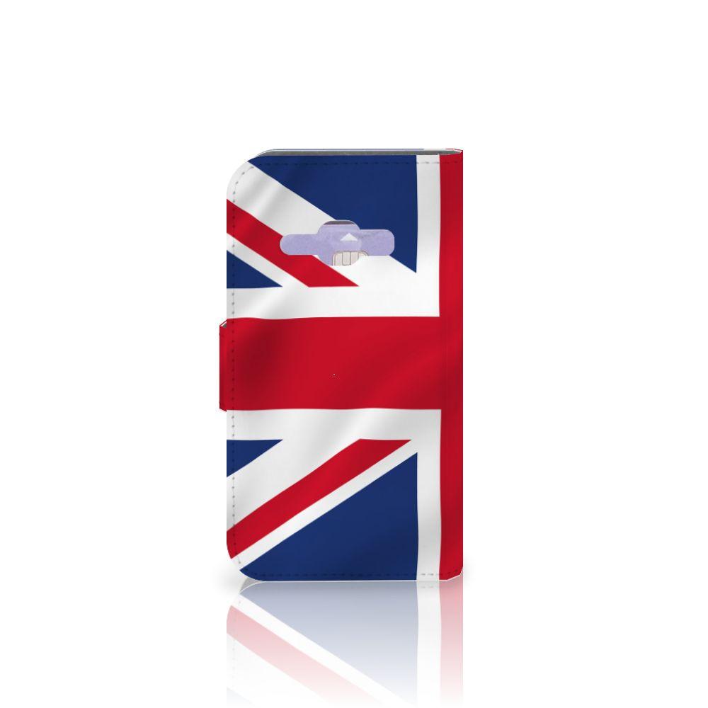 Samsung Galaxy J1 2016 Bookstyle Case Groot-Brittannië