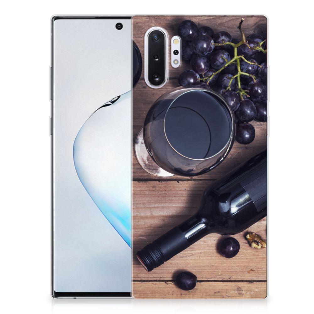 Samsung Galaxy Note 10 Plus Siliconen Case Wijn