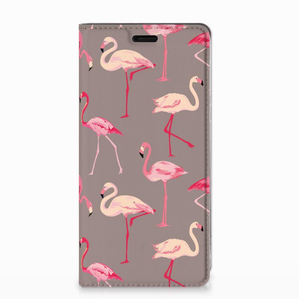 Nokia 8 Hoesje maken Flamingo
