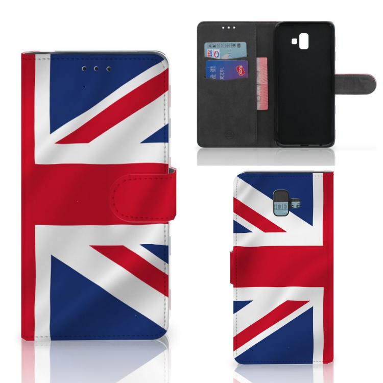 Samsung Galaxy J6 Plus (2018) Bookstyle Case Groot-Brittannië