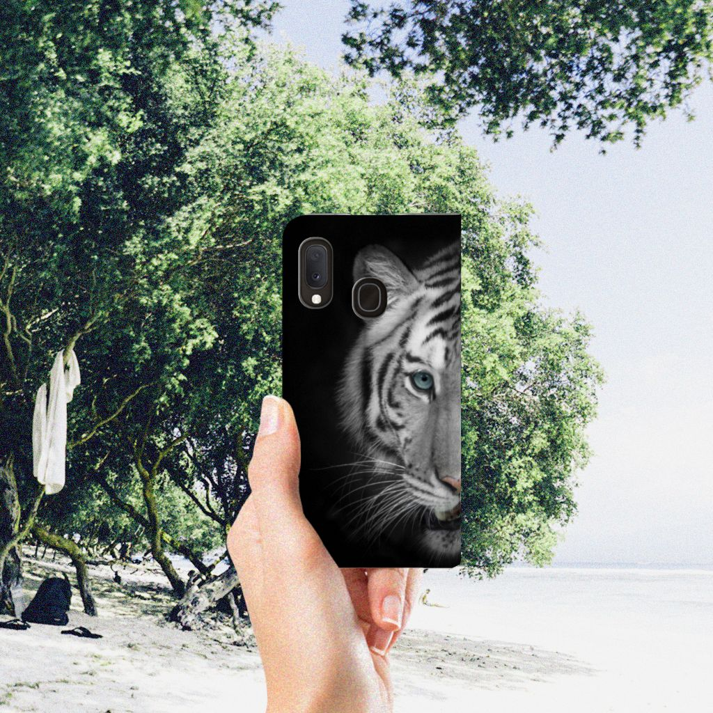 Samsung Galaxy A20e Hoesje maken Tijger