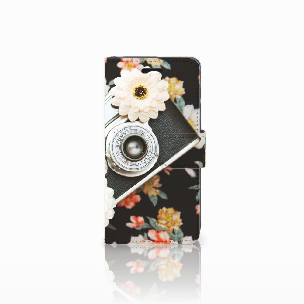 Huawei Y3 2 | Y3 II Uniek Boekhoesje Vintage Camera